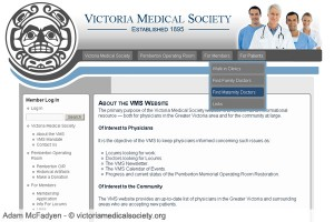 Victoria Medical Society Resource Site