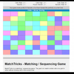 memory-game matching sequencing pattern game